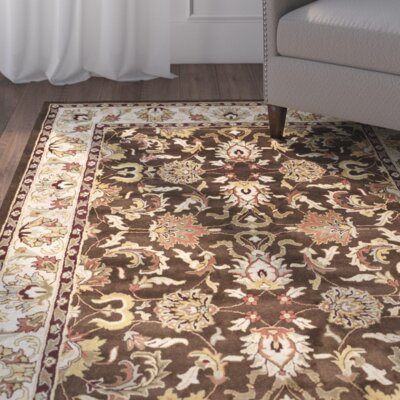 Cranmore Brown/Beige Area Rug Rug Size: 9 x 12