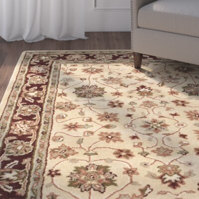 Cranmore Ivory/Red Area Rug