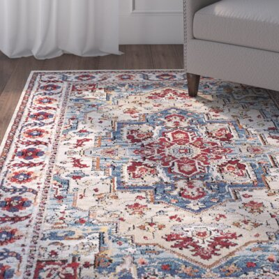 Gillison Putty/Claret Area Rug