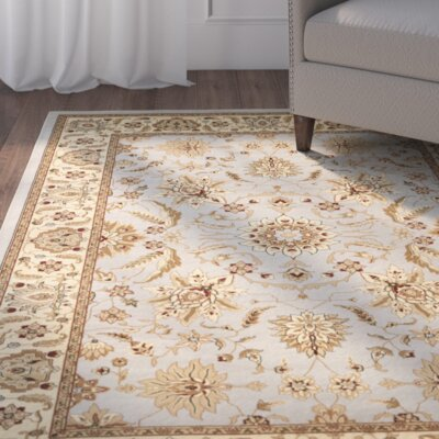 Ottis Gray/Beige Area Rug Rug Size: Rectangle 23 x 4