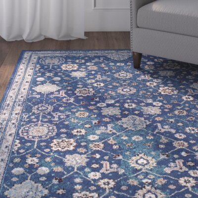 Gingerich Denim Area Rug