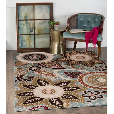 Dolan 3 Piece Seafoam Area Rug Set