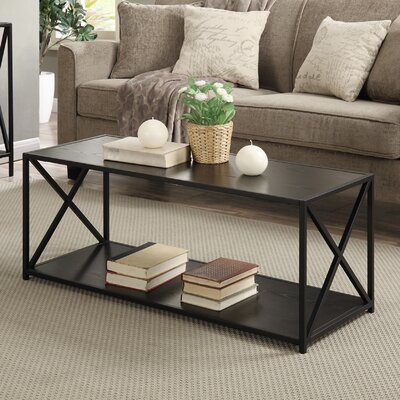 Abbottsmoor Coffee Table Wood Color: Black