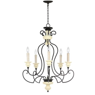 Rogers 5-Light Candle-Style Chandelier