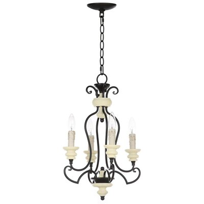 Roosevelt 4-Light Candle-Style Chandelier