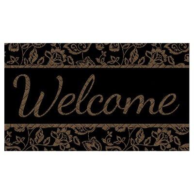 Arnold Welcome Embossed Doormat