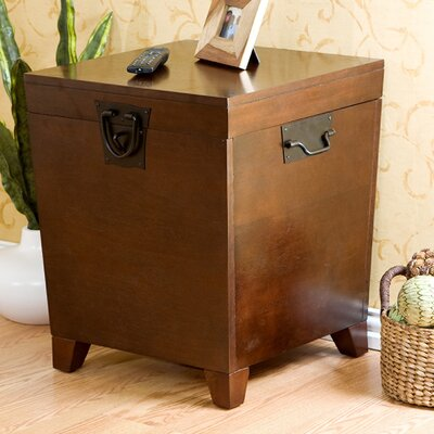 Boneta Trunk End Table Finish: Espresso
