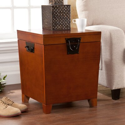 Boneta Trunk End Table Finish: Mission Oak