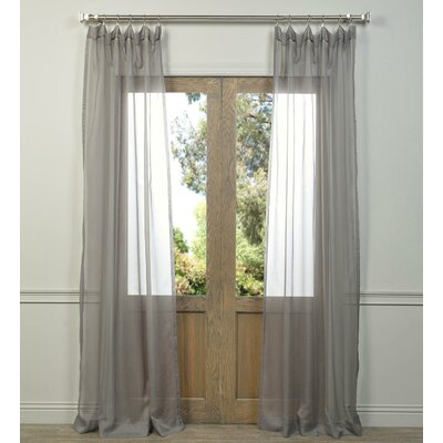 Coleman Semi-Opaque Pinch Pleat Curtain Panel Pair