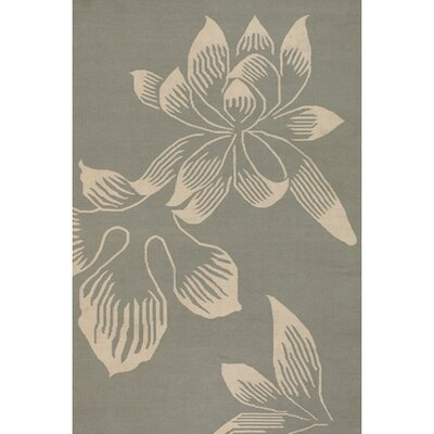 Emily Gray Area Rug Rug Size: 5 x 76
