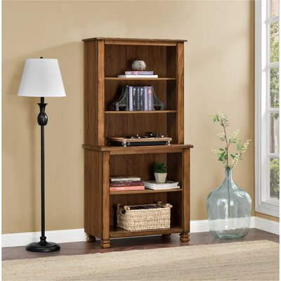 Follansbee 61 Standard Bookcase Finish: Tuscany Oak