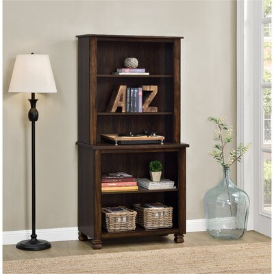 Follansbee 61 Standard Bookcase Finish: Espresso
