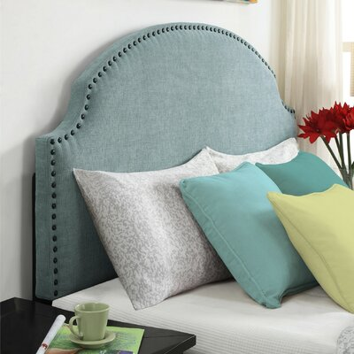 Rowland Queen Upholstered Panel Headboard Upholstery: Robins Egg Blue