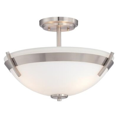 Ruben 3 Light Semi Flush Mount
