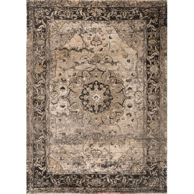 Russell Gray Area Rug Rug Size: 710 x 103