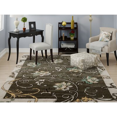 Sioux Falls Light Gray Area Rug Rug Size: 2' x 3'