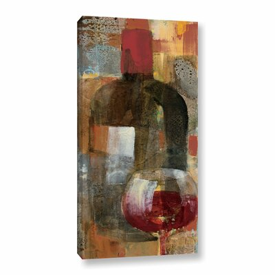 'Festa III V2' Painting Print on Wrapped Canvas Size: 12