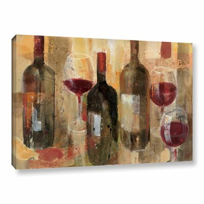 'Festa I V2' Painting Print on Wrapped Canvas Size: 12