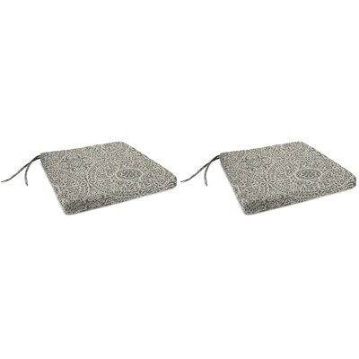 Indoor Chair Cushion Fabric: Tachenda Greystone