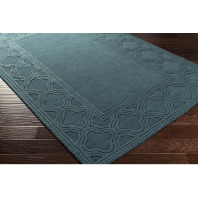Essex Blue Area Rug Rug Size: Rectangle 5 x 8