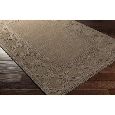 Essex Brown Area Rug Rug Size: 5 x 8