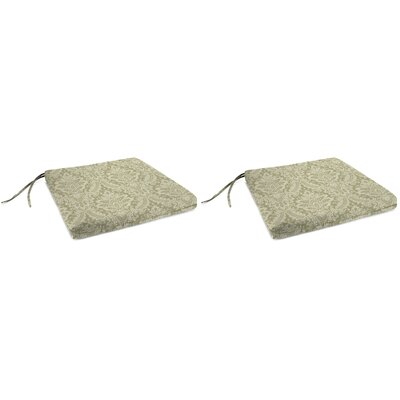 Indoor Chair Cushion Fabric: Donnington Linen