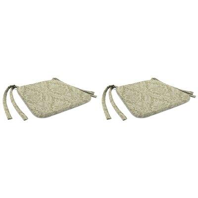 Indoor Chair Cushion Fabric: Donnington Linen