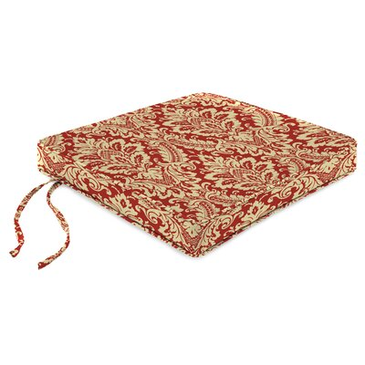 Indoor Chair Cushion Fabric: Donnington Crimson