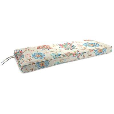 Indoor Bench Cushion Fabric: Jubilant Jewel