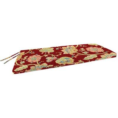 Indoor Bench Cushion Fabric: Jubilant Blossom