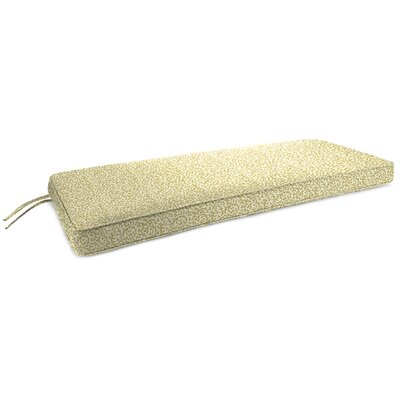Indoor Bench Cushion Fabric: Coral Curl Sandcastle