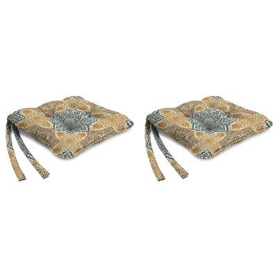 Indoor Chair Cushion Fabric: Foley Topaz