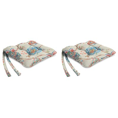 Indoor Chair Cushion Fabric: Jubilant Jewel