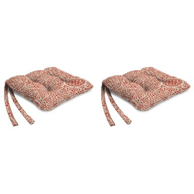 Indoor Chair Cushion Fabric: Tachenda Mango