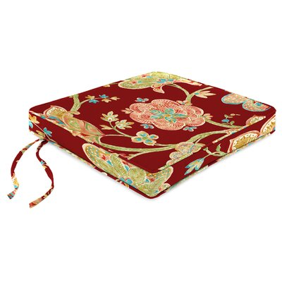 Indoor Chair Cushion Fabric: Jubilant Blossom