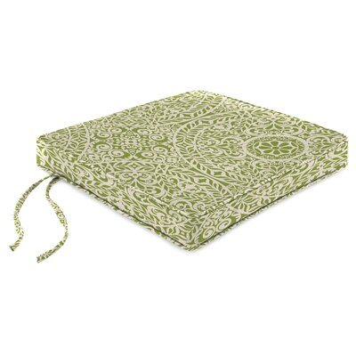 Indoor Chair Cushion Fabric: Tachenda Palm