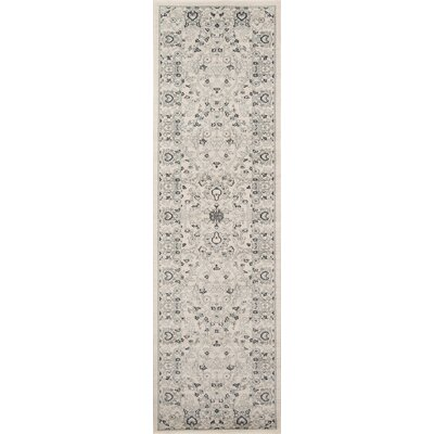 Phoebe Gray Area Rug Rug Size: Rectangle 53 x 76