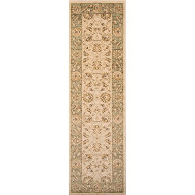 Phoebe Ivory Area Rug Rug Size: Rectangle 93 x 126