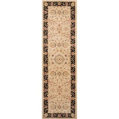 Phoebe Beige Area Rug Rug Size: Rectangle 93 x 126