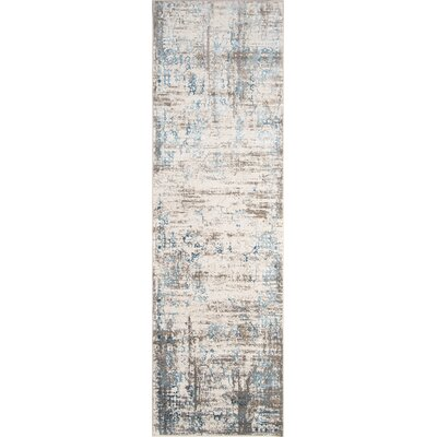 Hoagland Blue Area Rug Rug Size: Rectangle 7'6