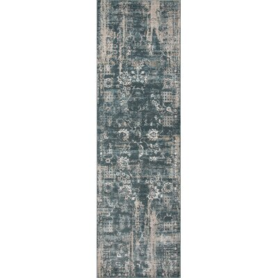 Hoagland Green Area Rug Rug Size: Rectangle 76 x 96