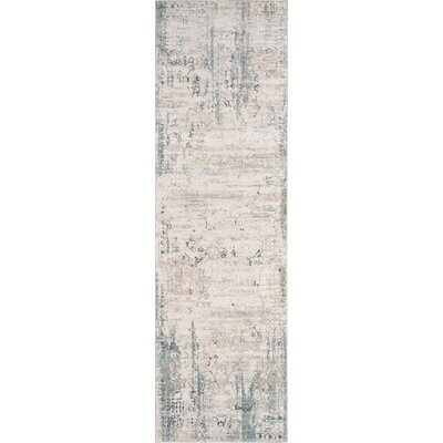 Hoagland Ivory Area Rug Rug Size: Runner 23 x 76