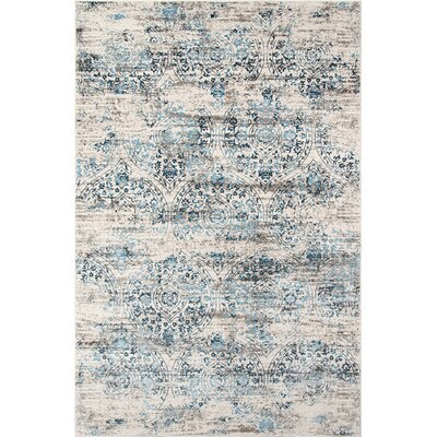 Hoagland Blue Area Rug Rug Size: Rectangle 76 x 96