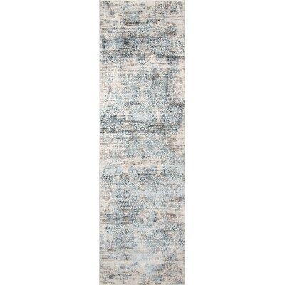 Hoagland Blue Area Rug Rug Size: Runner 23 x 76