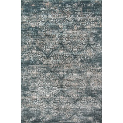 Hoagland Green Area Rug Rug Size: Rectangle 86 x 116