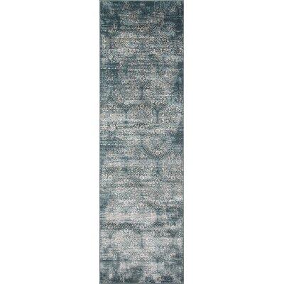 Hoagland Green Area Rug Rug Size: Runner 23 x 76