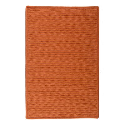 Glasgow Orange Indoor/Outdoor Area Rug