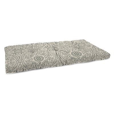 Polyester Indoor Bench Cushion Fabric: Tachenda Greystone