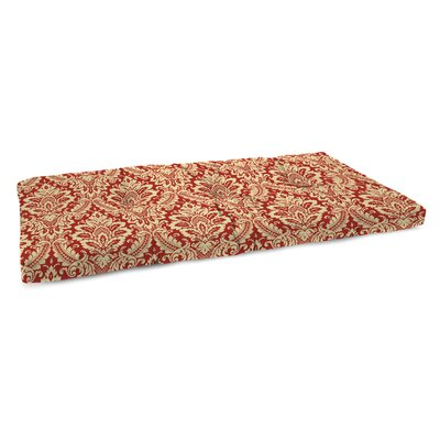 Indoor Bench Cushion Fabric: Donnington Crimson