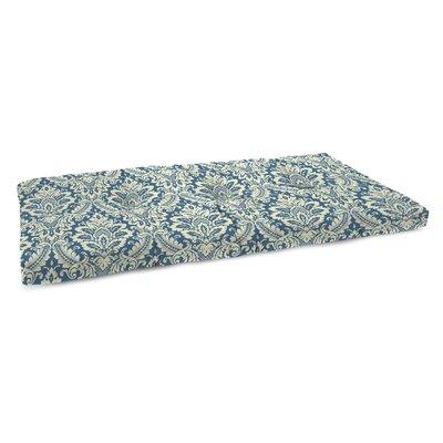 Indoor Bench Cushion Fabric: Donnington Cornflower